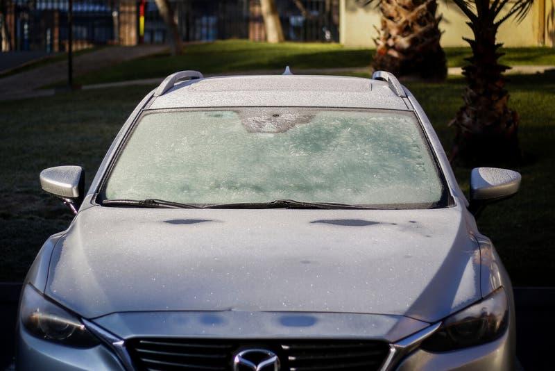 [VIDEO] La mañana más fría de este año: Se registraron dos grados bajo cero