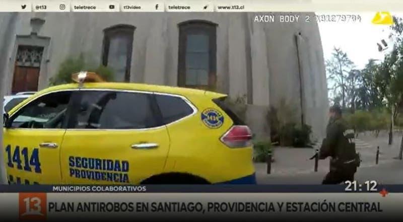 Santiago, Providencia y Estación Central se unen para disminuir robos