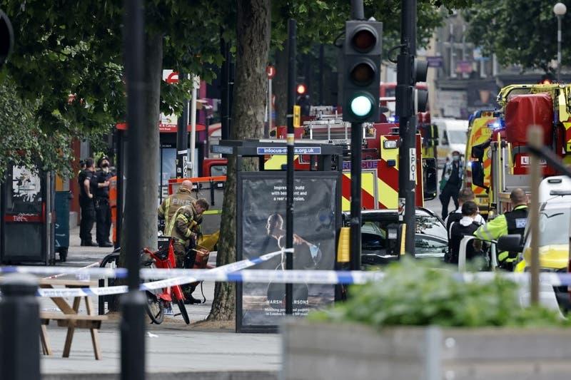 Registran impactante explosión en el centro de Londres