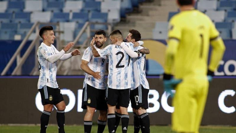 Líder indiscutido del Grupo A: Argentina golea a Bolivia con un inspiradísimo Lionel Messi