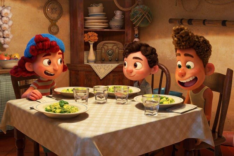 """Si ya viste """"Luca"""", ¿encontraste la escena donde aparece la famosa camioneta de Pizza Planeta?"""