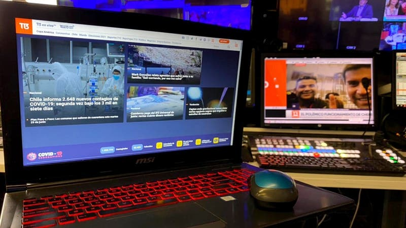 T13.cl se posiciona como el sitio web de noticias más visitado en Chile