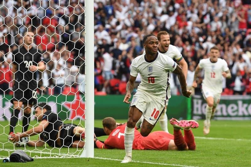 Inglaterra se encendió al final para vencer a Alemania y avanzar a los cuartos de final de la Euro