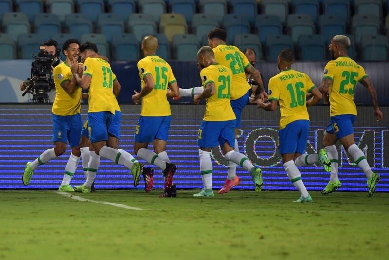 Brasil llega con una sola baja al partido frente a Chile por los cuartos de final de Copa América