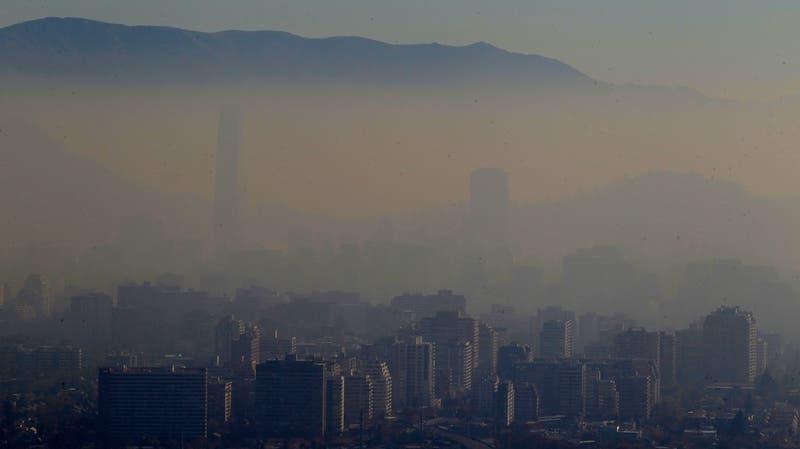 Intendencia decreta Preemergencia Ambiental para toda la RM por malas condiciones del aire