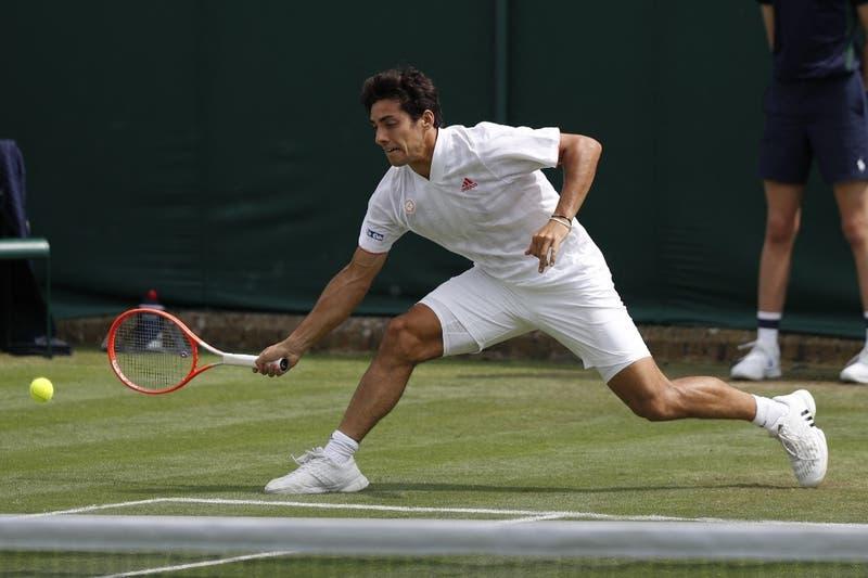 Cristian Garín vence al australiano Marc Polmans y avanza a la tercera ronda de Wimbledon