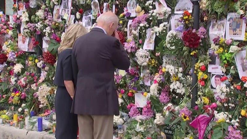 Más de 140 desaparecidos por derrumbe en Miami: Biden visitó la zona