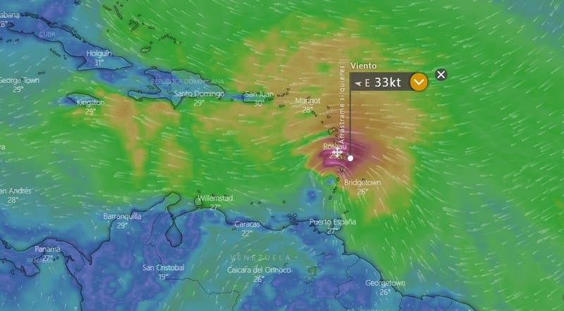 Huracán Elsa amenaza el caribe