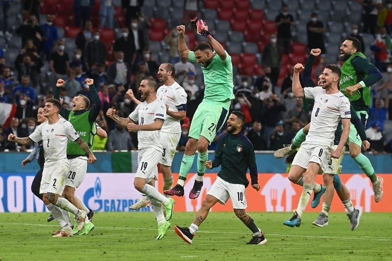 Italia vence a Bélgica y se medirá ante España en las semifinales de la Eurocopa
