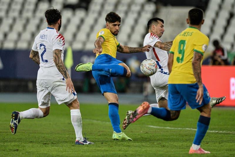 Chile no pudo frente a la historia y le dice adiós a la Copa América tras caer ante Brasil