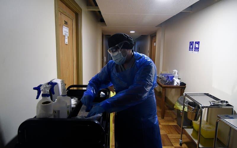 Iquique: Nace el primer bebé en una residencia sanitaria