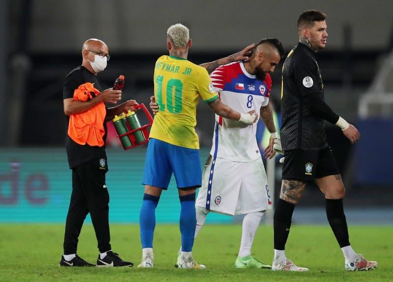 El mensaje de Neymar que apuntaría hacia Arturo Vidal tras el triunfo de Brasil sobre Chile