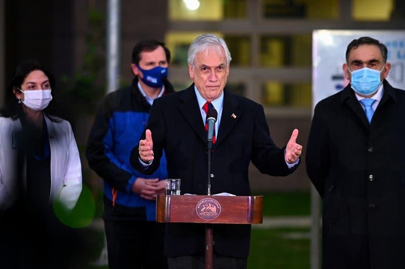"""Piñera a la constituyente: """"Que el diálogo y respeto sean parte de la nueva Constitución"""""""