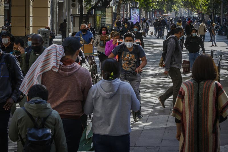 Coronavirus en Chile: 3.368 nuevos contagios y 130 muertes en las últimas 24 horas