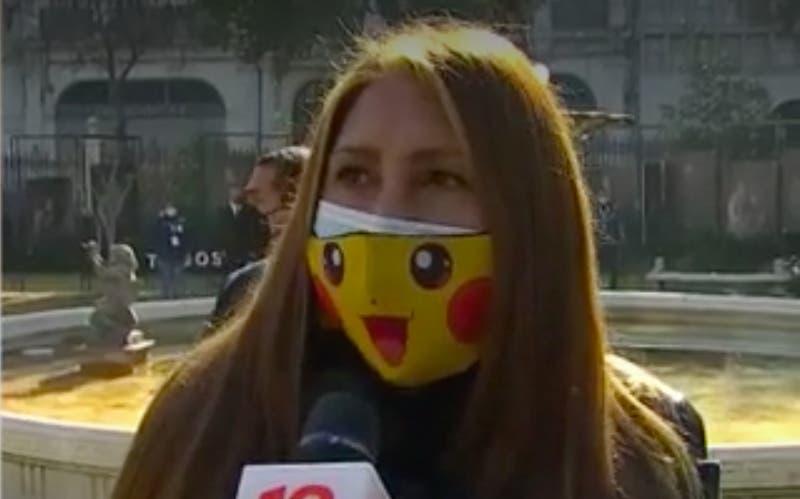 """Tía Pikachu por incidentes en el ex Congreso: """"Si tu atacas no vas a esperar que te abracen"""""""