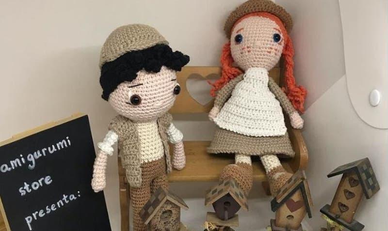 ¿Sabes que son los amigurumi?: Tienda online vende adorables muñecos a crochet que dan buena suerte