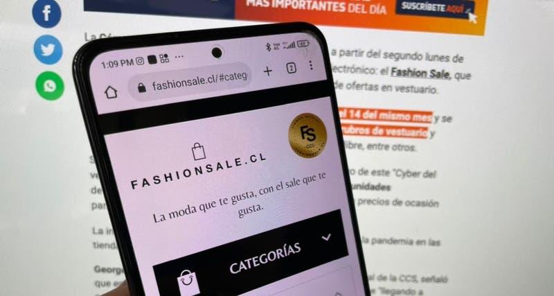 """Fashion Sale, anuncian el primer """"Cyber"""" enfocado en vestuario"""