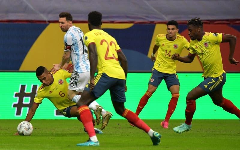 [EN VIVO] Argentina y Colombia están igualando en semifinales de Copa América