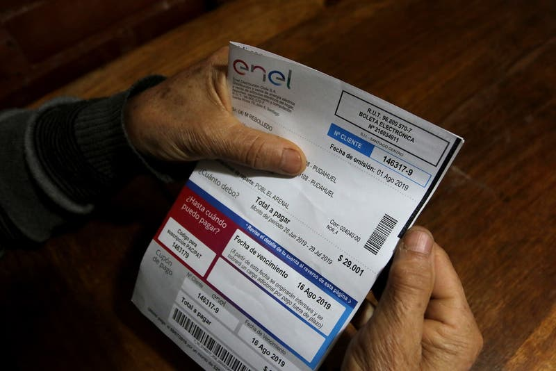 Enel recurre a la justicia por deuda de clientes de altos consumos