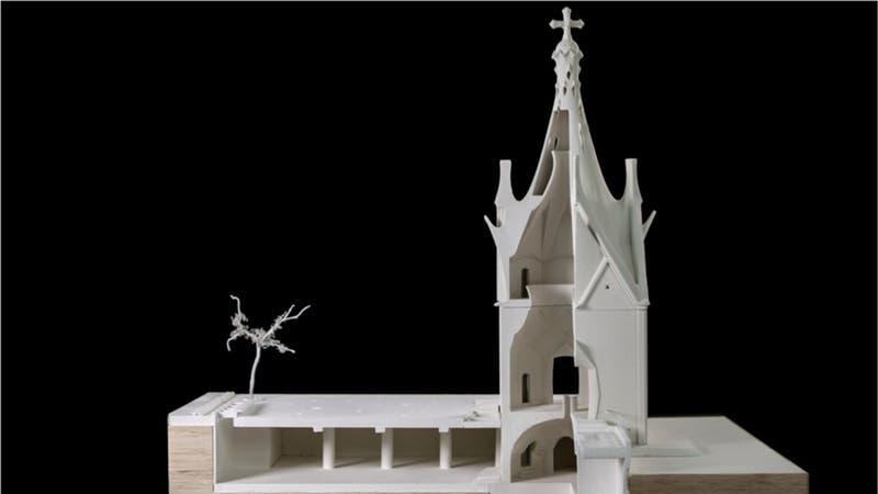 Inédita obra del arquitecto que diseñó la Sagrada Familia en Cataluña se construirá en Rancagua