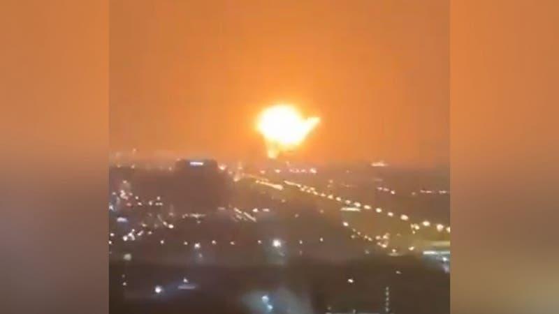 [VIDEO] Los registros de la gigantesca explosión que sacudió a parte de Dubai