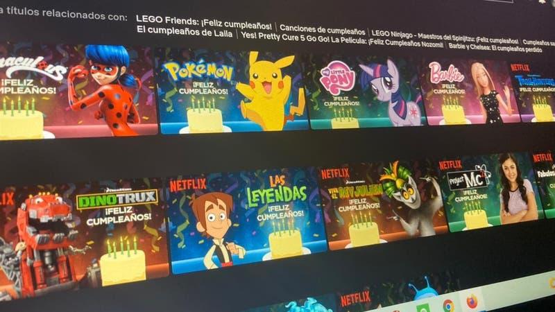 El truco secreto de Netflix para que tus series favoritas te saluden en tu cumpleaños