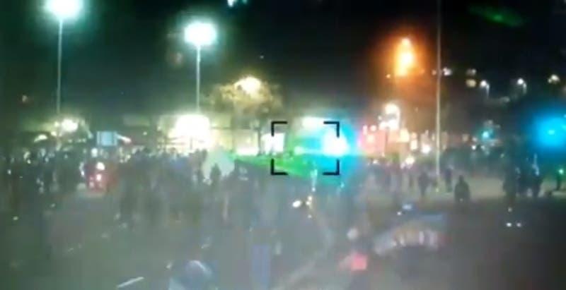 Manifestaciones y desvíos de tránsito en el sector de Plaza Italia