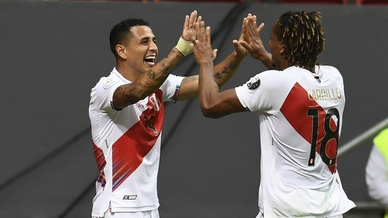 [VIDEO] El golazo de Perú tras un letal contragolpe contra la Colombia de Reinaldo Rueda