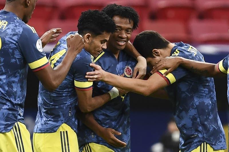 Con un golazo en los descuentos Colombia cence a Perú y se queda con el tercer lugar de Copa América