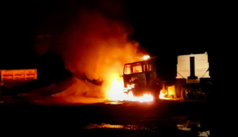 [VIDEO] Registran nuevos ataques incendiarios en la Araucanía