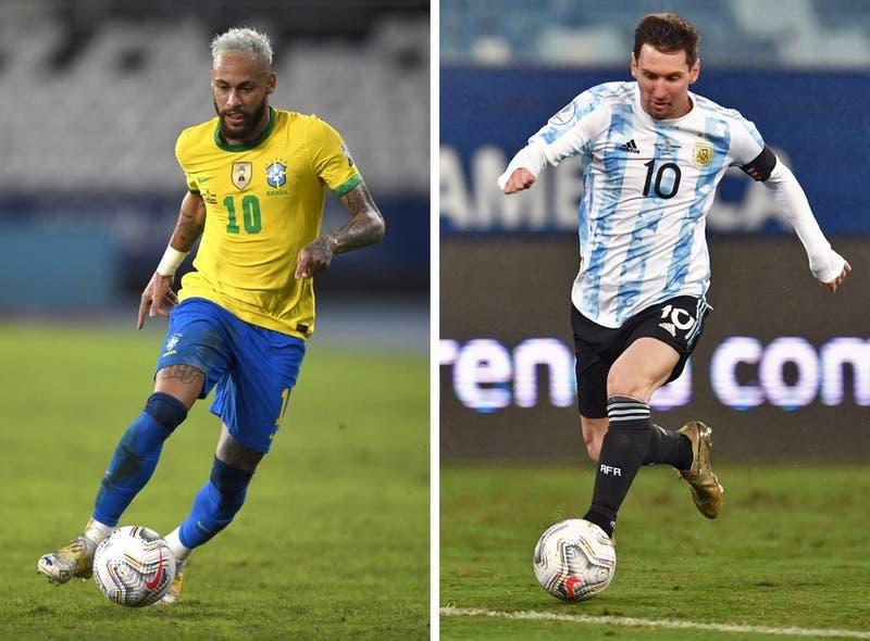 Final de la Copa América por el 13: ¿A qué hora es el Brasil-Argentina?