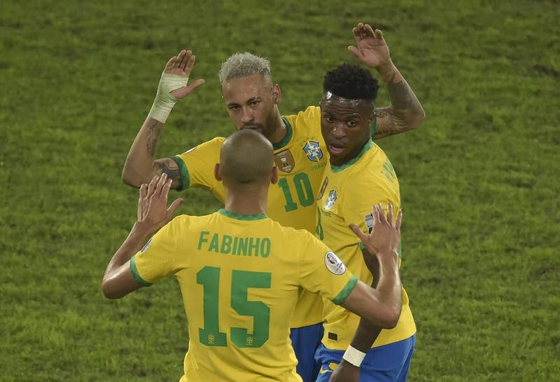 Con Neymar a la cabeza: la alineación confirmada de Brasil para la final de Copa América