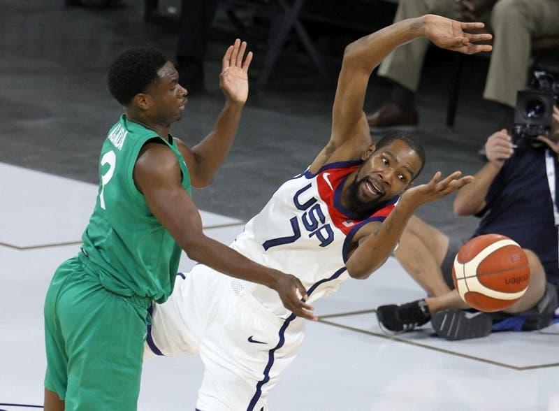 Sopresa: Equipo de básquet de EE.UU perdió ante Nigeria en preparación para Tokio