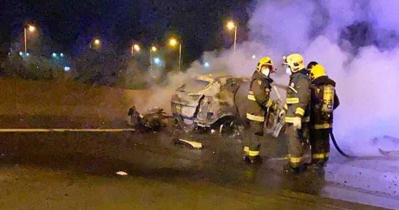 Dos mujeres murieron en grave accidente de motocicleta en Lota