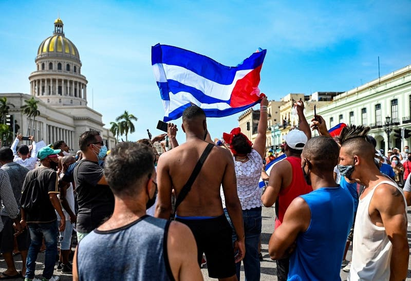 """Partido Comunista solidariza con """"gobierno y pueblo cubano"""" tras jornada de protestas"""