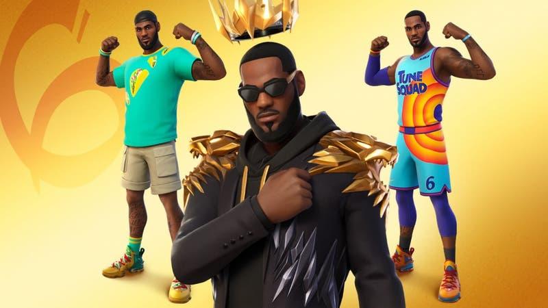 """[VIDEO] """"Ha llegado el Rey"""": Fortnite anuncia el arribo de LeBron James al videojuego"""