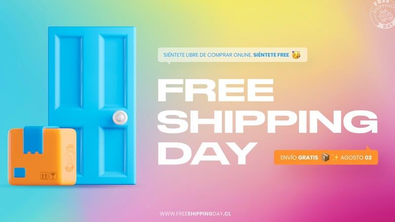 Qué es el free shipping day y cuándo comienza en Chile