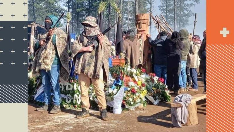 Guardia armada y disparos en funeral de miembro de la CAM