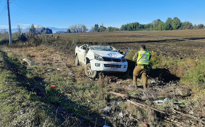 Fiscalía investiga accidente automovilístico que dejó en estado grave a alcalde de Coihueco