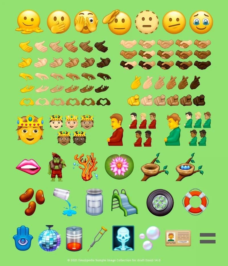 Revisa los nuevos emojis que podrían llegar este 2021