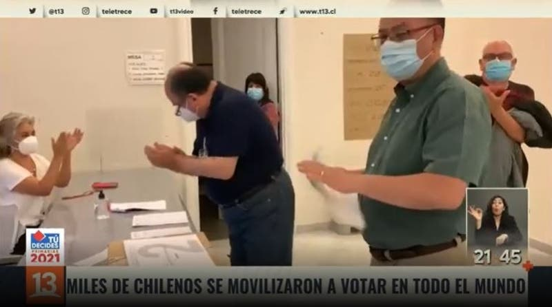 [VIDEO] Activa participación de chilenos en 62 países