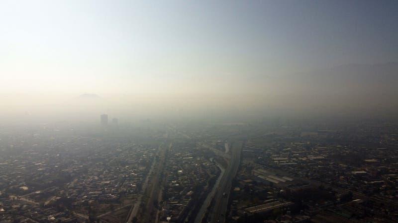 Intendencia decreta alerta ambiental para este lunes en la Región Metropolitana
