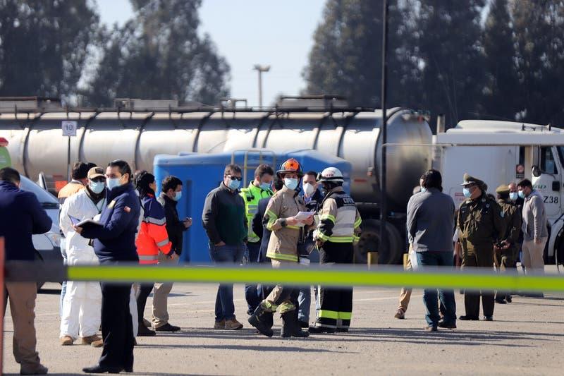 Trabajadores intoxicados en sector industrial en Concón: Onemi confirmó tres muertos