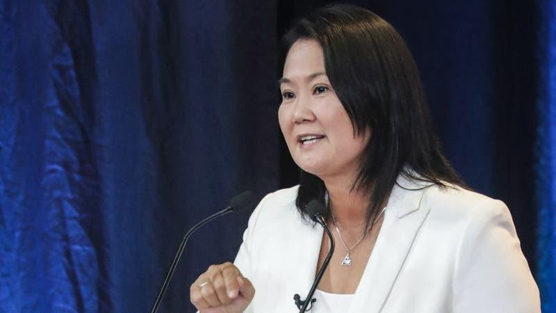 """Keiko Fujimori reconoce derrota ante Pedro Castillo: """"Es lo que manda la ley y la constitución"""""""