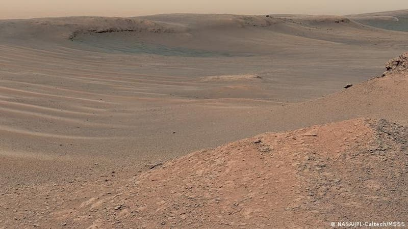 Curiosity descubre que pruebas de vida pasada en Marte pueden haber sido borradas