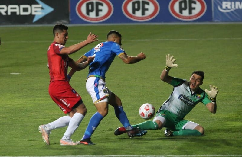 Audax Italiano iguala ante Huachipato pero recupera el liderato del fútbol chileno