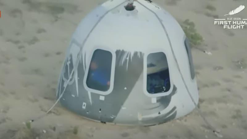Así fue el viaje de Blue Origin que llevó a Jeff Bezos al espacio