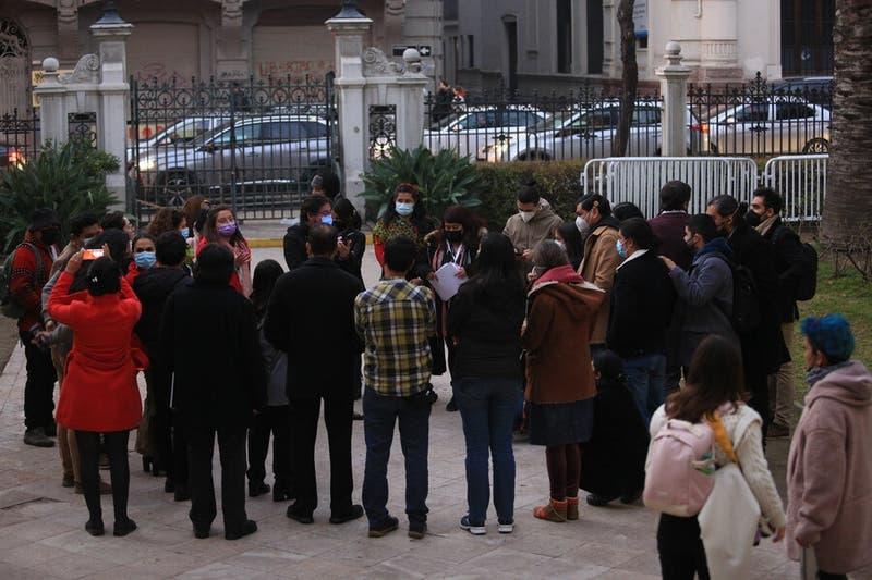 Nueve miembros de la Convención entran en cuarentena preventiva por contagio de un asesor
