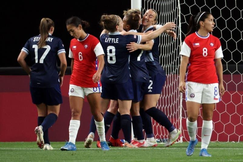 La Roja Femenina cayó 2-0 ante Gran Bretaña en su debut por los Juegos Olímpicos de Tokio
