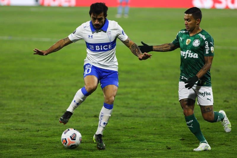 Edson Puch queda descartado en Universidad Católica para revancha ante Palmeiras por la Libertadores